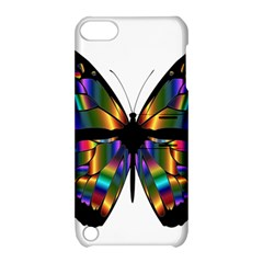 Abstract Animal Art Butterfly Apple iPod Touch 5 Hardshell Case with Stand