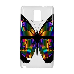 Abstract Animal Art Butterfly Samsung Galaxy Note 4 Hardshell Case