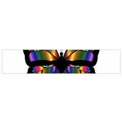 Abstract Animal Art Butterfly Flano Scarf (Small)