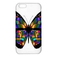 Abstract Animal Art Butterfly iPhone 6/6S TPU Case
