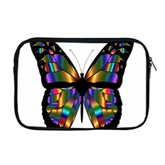 Abstract Animal Art Butterfly Apple MacBook Pro 17  Zipper Case