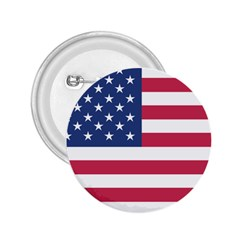 American Flag 2.25  Buttons