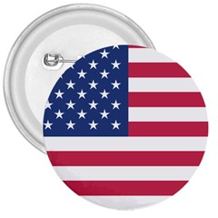 American Flag 3  Buttons