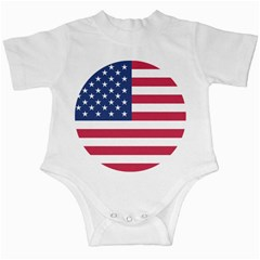 American Flag Infant Creepers