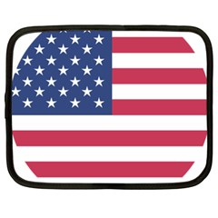 American Flag Netbook Case (XXL)