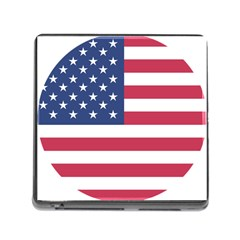 American Flag Memory Card Reader (Square)