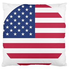 American Flag Standard Flano Cushion Case (One Side)