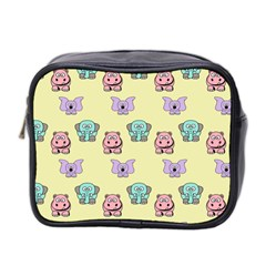 Animals Pastel Children Colorful Mini Toiletries Bag 2-Side