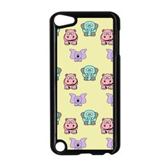 Animals Pastel Children Colorful Apple iPod Touch 5 Case (Black)