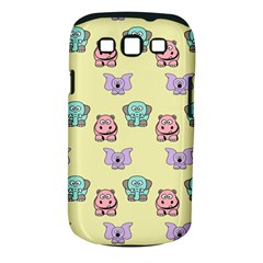 Animals Pastel Children Colorful Samsung Galaxy S III Classic Hardshell Case (PC+Silicone)