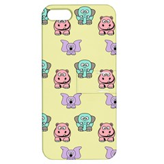 Animals Pastel Children Colorful Apple Iphone 5 Hardshell Case With Stand