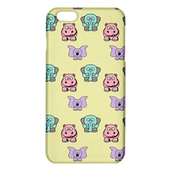 Animals Pastel Children Colorful iPhone 6 Plus/6S Plus TPU Case