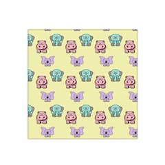 Animals Pastel Children Colorful Satin Bandana Scarf