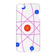 Atom Model Vector Clipart Apple iPod Touch 5 Hardshell Case