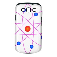 Atom Model Vector Clipart Samsung Galaxy S III Classic Hardshell Case (PC+Silicone)