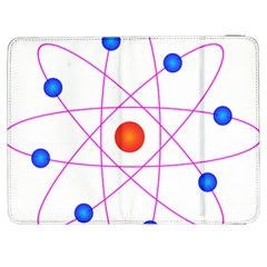 Atom Model Vector Clipart Samsung Galaxy Tab 7  P1000 Flip Case