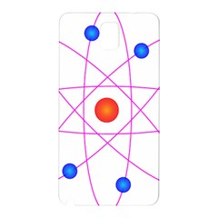 Atom Model Vector Clipart Samsung Galaxy Note 3 N9005 Hardshell Back Case