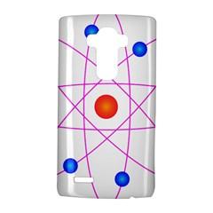 Atom Model Vector Clipart LG G4 Hardshell Case