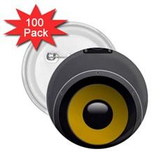Audio Loadspeaker Activ 2.25  Buttons (100 pack)