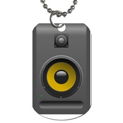 Audio Loadspeaker Activ Dog Tag (Two Sides)