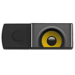 Audio Loadspeaker Activ USB Flash Drive Rectangular (1 GB)