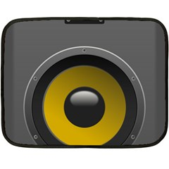 Audio Loadspeaker Activ Double Sided Fleece Blanket (Mini)