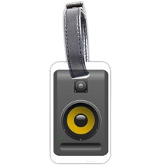 Audio Loadspeaker Activ Luggage Tags (Two Sides)
