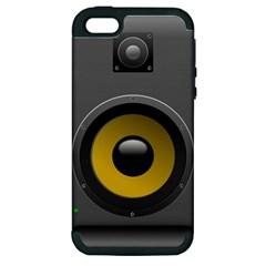 Audio Loadspeaker Activ Apple iPhone 5 Hardshell Case (PC+Silicone)