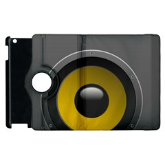 Audio Loadspeaker Activ Apple iPad 2 Flip 360 Case