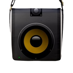 Audio Loadspeaker Activ Flap Messenger Bag (L)