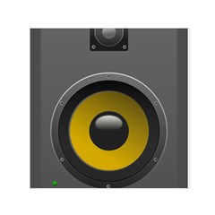Audio Loadspeaker Activ Small Satin Scarf (Square)
