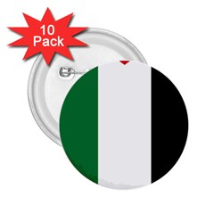 Palestine flag 2.25  Buttons (10 pack)