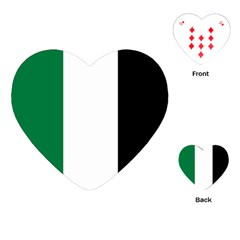 Palestine flag Playing Cards (Heart)