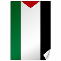 Palestine flag Canvas 12  x 18