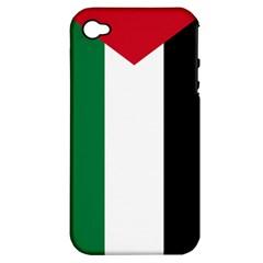 Palestine flag Apple iPhone 4/4S Hardshell Case (PC+Silicone)