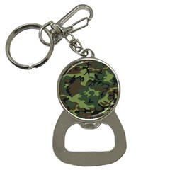 Camouflage Green Brown Black Button Necklaces