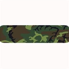 Camouflage Green Brown Black Large Bar Mats