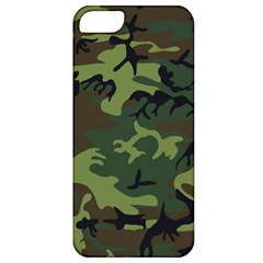 Camouflage Green Brown Black Apple iPhone 5 Classic Hardshell Case