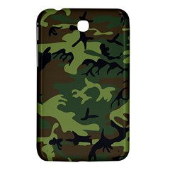 Camouflage Green Brown Black Samsung Galaxy Tab 3 (7 ) P3200 Hardshell Case