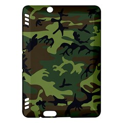 Camouflage Green Brown Black Kindle Fire HDX Hardshell Case
