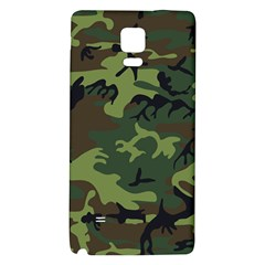 Camouflage Green Brown Black Galaxy Note 4 Back Case