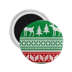 Christmas Jumper Pattern 2.25  Magnets