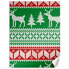 Christmas Jumper Pattern Canvas 36  x 48