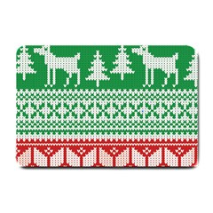Christmas Jumper Pattern Small Doormat