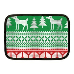 Christmas Jumper Pattern Netbook Case (Medium)