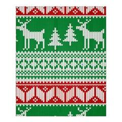 Christmas Jumper Pattern Shower Curtain 60  x 72  (Medium)