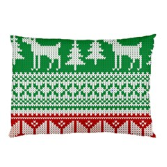 Christmas Jumper Pattern Pillow Case (Two Sides)