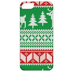Christmas Jumper Pattern Apple iPhone 5 Classic Hardshell Case