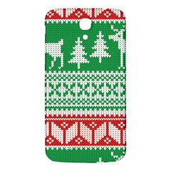 Christmas Jumper Pattern Samsung Galaxy Mega I9200 Hardshell Back Case