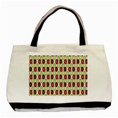Christmas Pattern Basic Tote Bag